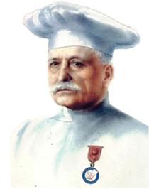 Auguste Escoffier im Historia de la Cocina, un buen resumen