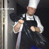 Chef: en todos lados, se saca la basura
