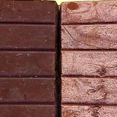 Por qué al chocolate le salen manchas blancas?